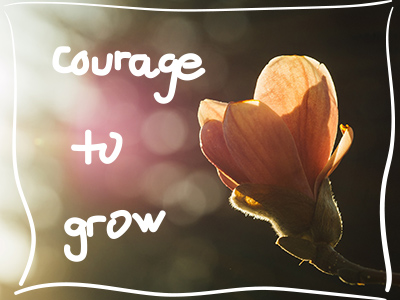 find the courage to grow business